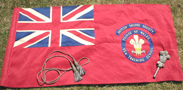 Original Prince of Wales Sea Training School Standard