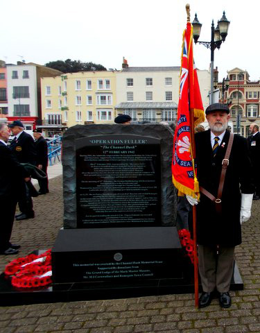 Channel Dash 2015 Service to commemorate Op Fuller 12 Feb 1942